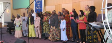 ECWA Chicago team at The Nations Worship 2011