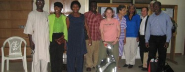 Rev. Laudarji and mission Team members to Ghana and Nigeria in 2009