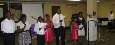The Children present at 2011 Church anniversary