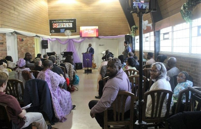 ECWA Chicago Thanksgiving service